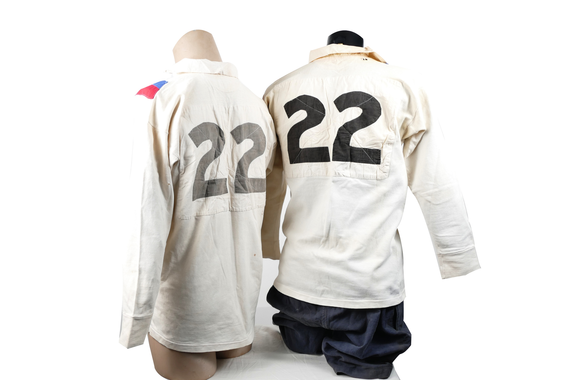 1946 Great Britain Tour Shirts and Shorts - Doug Phillips.
